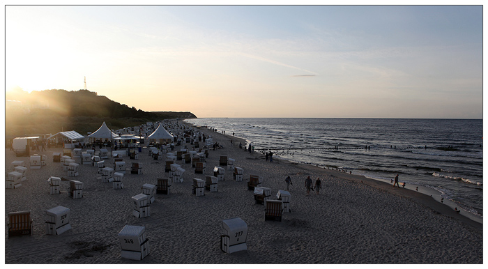 Strand bei Heringsdorf
